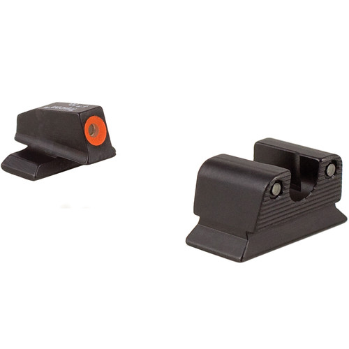 Trijicon BE110O Beretta PX4 HD Night Sight Set with Orange Front Outline