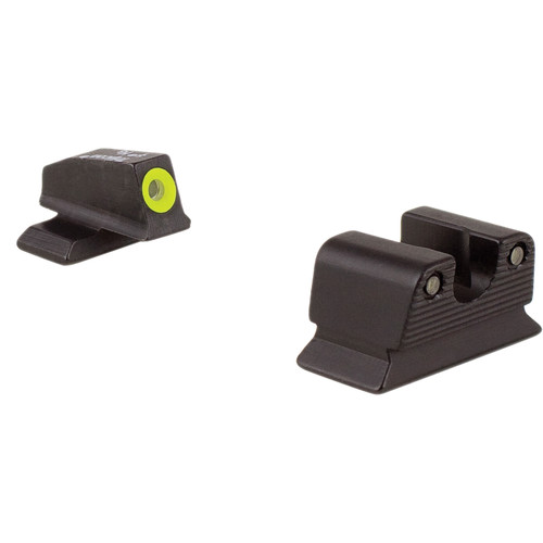Trijicon BE110Y Beretta PX4 HD Night Sight Set with Yellow Front Outline