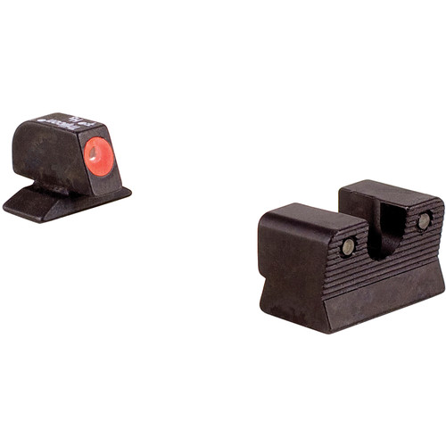 Trijicon BE113O Beretta 92/96A1 HD Night Sight Set with Orange Front Outline