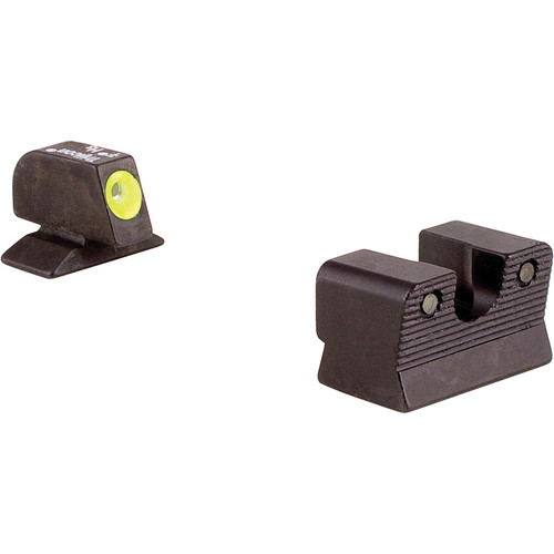 Trijicon BE113Y Beretta 92/96A1 HD Night Sight Set with Yellow Front Outline