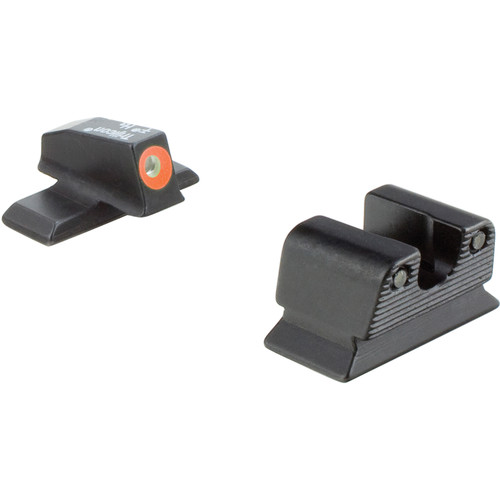 Trijicon HD Night Sight Set for Beretta PX4 Storm Pistol (Orange Front Disk, Matte Black)
