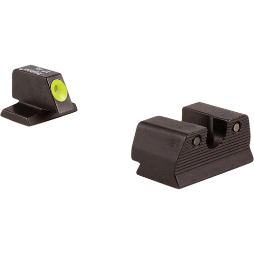 Trijicon FN HD Night Sight Set (Yellow, .40)
