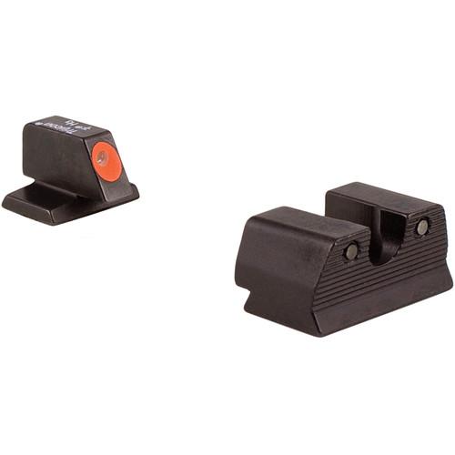 Trijicon FN HD Night Sight Set (Orange, 9mm)