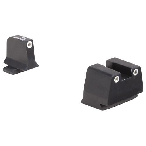 Trijicon FN Bright & Tough Suppressor 3-Dot Night Sight Set (.45 ACP)
