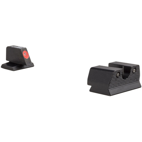 Trijicon .40 FNH HD XR Night Sight Set (Orange Front Ring)