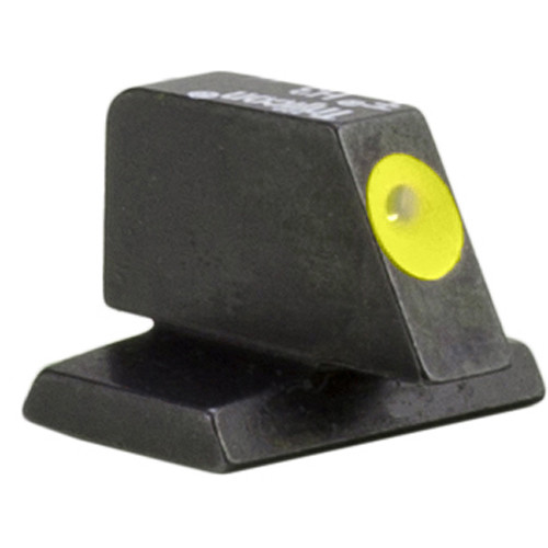 Trijicon HD XR Front Sight for FNH 40 Pistols (Yellow Outline Disk, Matte Black)