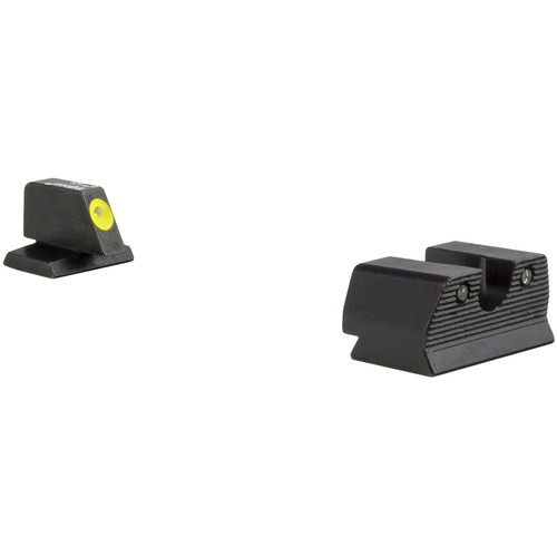 Trijicon FNH .45 HD XR Night Sights Set (Yellow Front Ring)