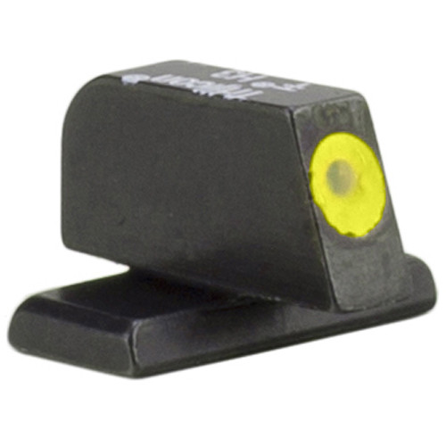 Trijicon HD XR Front Sight for FN509 Pistols (Yellow Outline Disk, Matte Black)