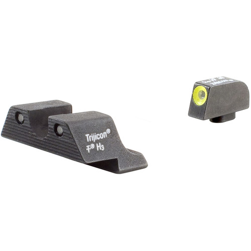 Trijicon HD Night Sight Set with Yellow Front Outline for Select Glock Pistols