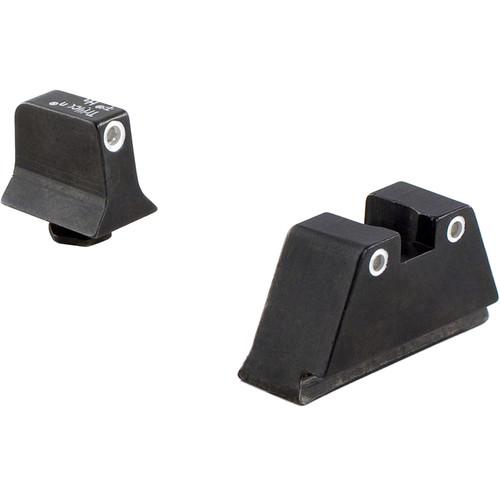 Trijicon Glock Bright & Tough Suppressor Night Sight Set (Green Front, Orange Rear)