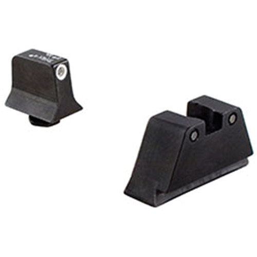 Trijicon Bright & Tough Night Sight (White Front/Black Rear, Green Lamps)