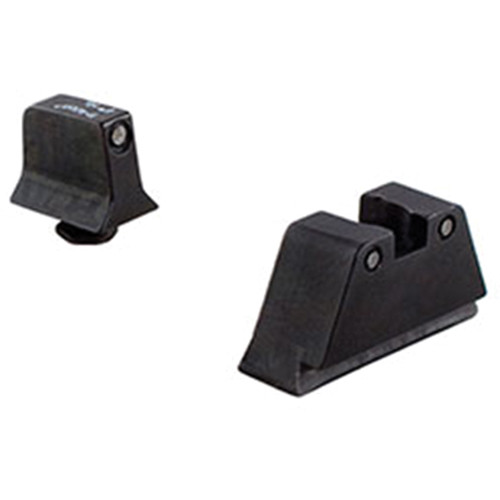 Trijicon Bright & Tough Night Sight for Glock 20/21/29/30/36/41/S/SF (Black Front/Rear, Green Lamps)