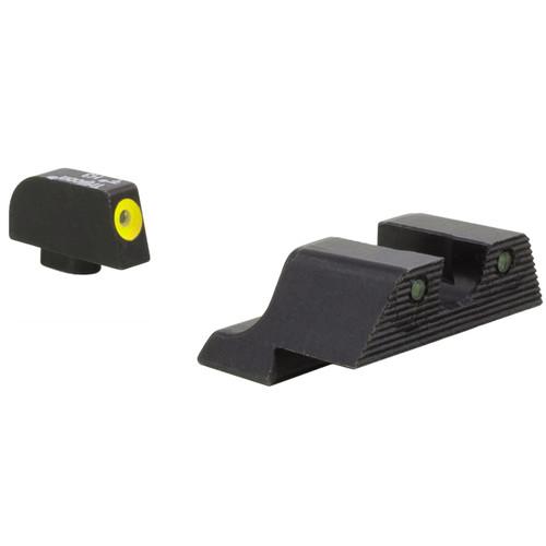 Trijicon Glock HD XR Night Sight Set (Yellow Front Disk)
