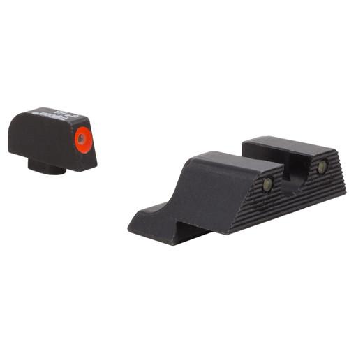 Trijicon Glock HD XR Night Sight Set (Orange Front Disk)