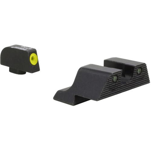Trijicon Glock HD XR Night Sights Set (Yellow Front Ring)
