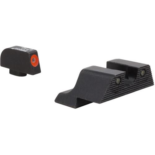 Trijicon Glock HD XR Night Sights Set (Orange Front Ring)