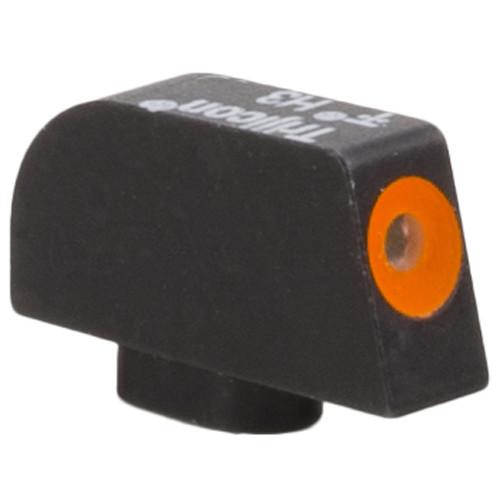 Trijicon HD XR Front Sight for Glock 10mm/.45ACP Pistols (Orange Outline Disk, Matte Black)