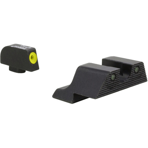 Trijicon Glock HD XR Night Sights Set (Yellow Front Ring)