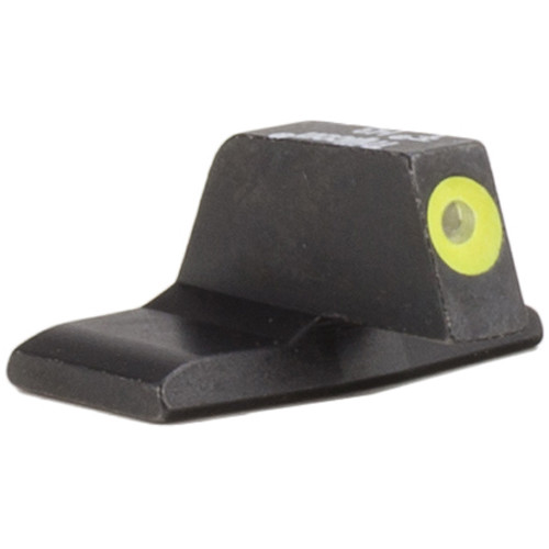 Trijicon HD XR Front Sight for H&K .45C/P30/VP9 Pistols (Yellow Outline Disk, Matte Black)