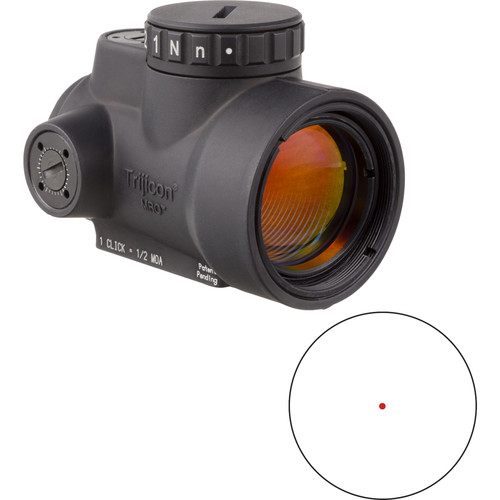 Trijicon 1x25 MRO Reflex Sight (2 MOA Red Dot Reticle, No Mount)