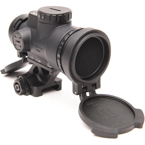 Trijicon 1x25 MRO Patrol Reflex Sight (2 MOA Red Dot Reticle, Full Co-Witness QR Mount)