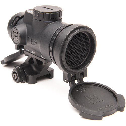 Trijicon 1x25 MRO Patrol Reflex Sight (2 MOA Red Dot Reticle, Full Co-Witness QR Mount)