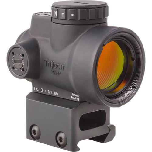 Trijicon 1x25 MRO Reflex Sight (2 MOA Green Dot Reticle, Full Co-Witness Picatinny Mount)