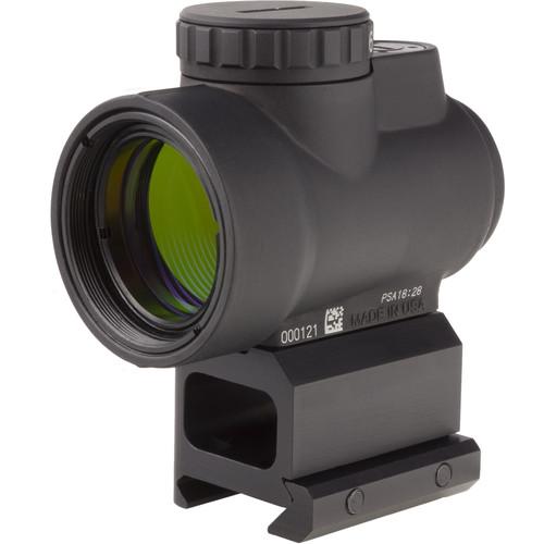 Trijicon 1x25 MRO Reflex Sight (2 MOA Green Dot Reticle, Lower 1/3 Co-Witness Picatinny Mount)
