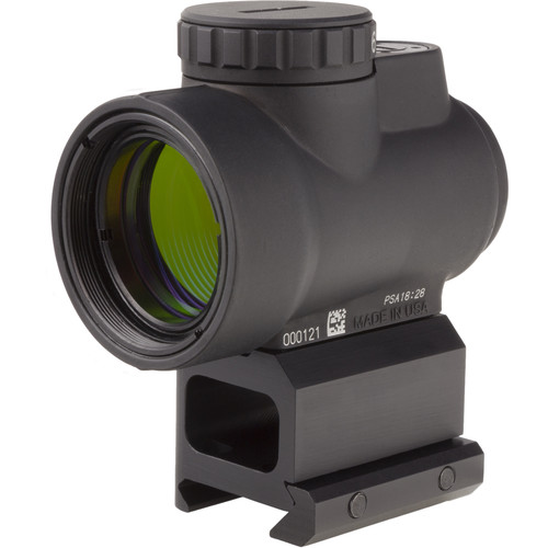 Trijicon 1x25 MRO Reflex Sight (2 MOA Green Dot Reticle, Lower 1/3 Co-Witness Picatinny Mount)