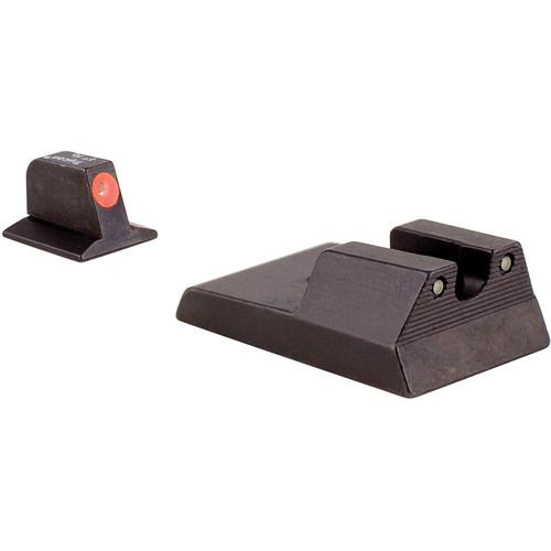 Trijicon RA114O HD Night Sight Set with Orange Front Outline