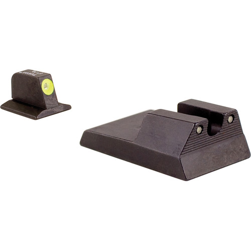 Trijicon RA114Y HD Night Sight Set with Yellow Front Outline