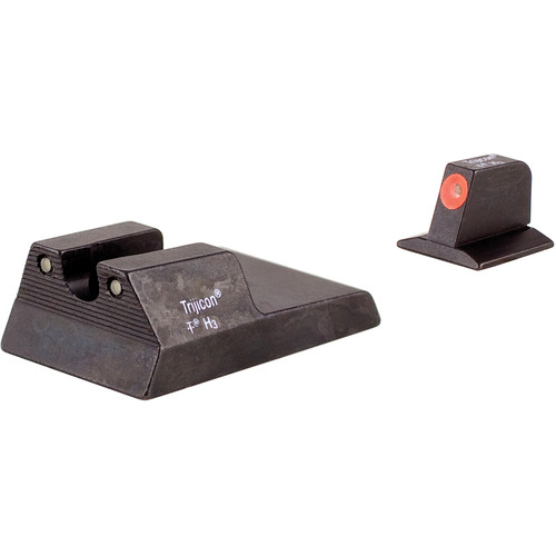 Trijicon RA115O HD Night Sight Set with Orange Front Outline