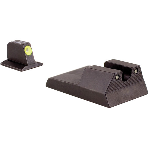 Trijicon RA115Y HD Night Sight Set with Yellow Front Outline
