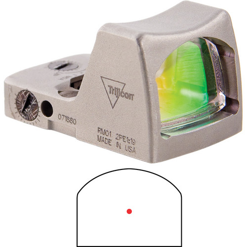 Trijicon RMR LED Reflex Sight (Nickel, 3.25 MOA Red Dot)