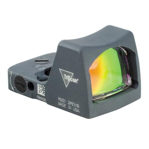 Trijicon RM01 RMR LED Reflex Sight (3.25 MOA Red Dot, Cerakote Sniper Gray)