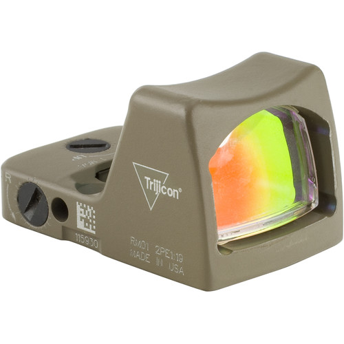 Trijicon RM01 RMR Type 2 LED Reflex Sight (3.25 MOA Red Dot, Cerakote Flat Dark Earth)