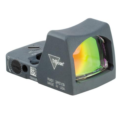 Trijicon RM02 RMR LED Reflex Sight (6.5 MOA Red Dot, Cerakote Sniper Gray)