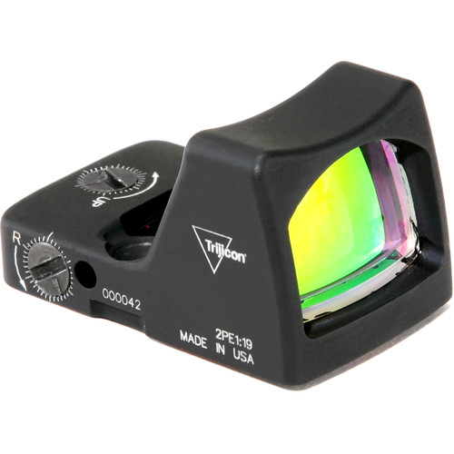 Trijicon RM02 RMR Type 2 LED Reflex Sight (6.5 MOA Red Dot Reticle, Matte Black)