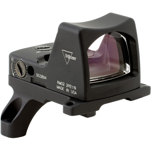 Trijicon RM02 RMR Type 2 LED Reflex Sight with RM35 Mount (6.5 MOA Red Dot Reticle, Matte Black)