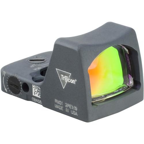 Trijicon RM02 RMR Type 2 LED Reflex Sight (6.5 MOA Red Dot Reticle, Cerakote Sniper Gray)