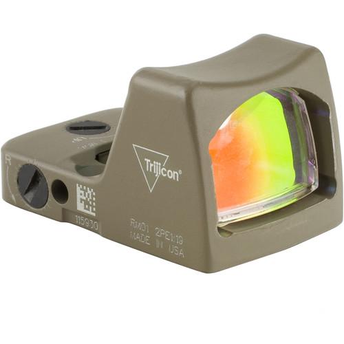 Trijicon RM02 RMR Type 2 LED Reflex Sight (6.5 MOA Red Dot Reticle, Cerakote Flat Dark Earth)