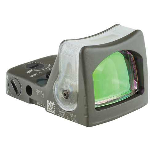 Trijicon RM03 Dual-Illuminated RMR Reflex Sight (Amber Reticle, OD Green)