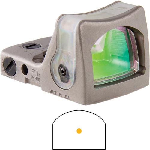 Trijicon RMR Dual-Illuminated Reflex Sight (Nickel, 7 MOA Amber Dot)