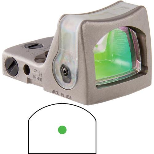 Trijicon RM05 Dual-Illuminated RMR Reflex Sight (9 MOA Green Reticle, Nickle)