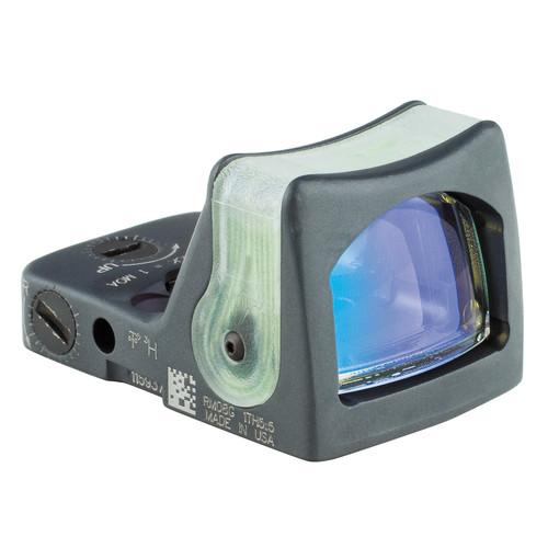 Trijicon RM05 Dual-Illuminated RMR Reflex Sight (9 MOA Amber Reticle, Sniper Gray)