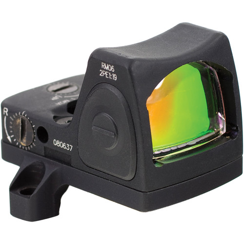 Trijicon RM06 RMR Adjustable LED 3.25 MOA Red Dot Reflex Sight w/ACOG Mount