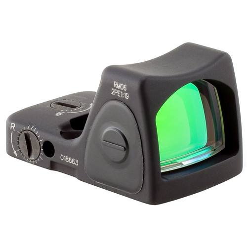 Trijicon RM06 RMR Type 2 Adjustable LED Reflex Sight (3.25 MOA Red Dot, Matte Black)