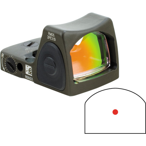 Trijicon RM07 RMR Reflex Sight (OD Green)