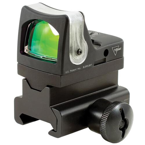 Trijicon RM08 RMR Dual-Illuminated 12.9 MOA Green Triangle Reflex Sight w/Mount