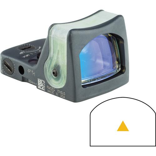 Trijicon RM08 Dual-Illuminated RMR Reflex Sight (Amber Reticle, Sniper Gray)